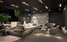 minotti flagshipstore m nchen jetzt auf ad ads showroom and bedrooms. Black Bedroom Furniture Sets. Home Design Ideas