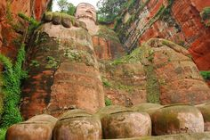 The Leshan Giant Buddha (乐山大佛) @ China