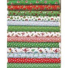 Windham Fabrics Thirties Storybook Christmas 12 Fat Quarters