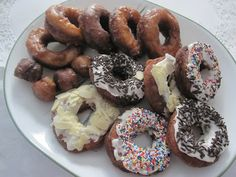 Gluten Free Doughnuts!  (have to try these with egg replacer)