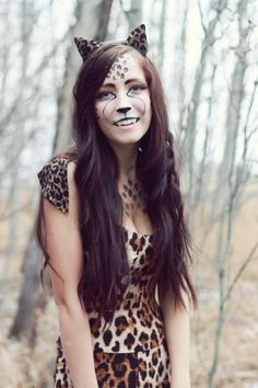Cougar Kitty Womens Costume   Cheetah costume, Costumes and ...