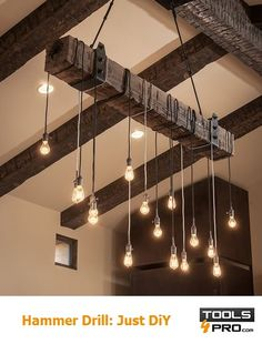 How to Hang a Ceiling Lamp Hanging a ceiling lamp is simple, but it's vital that you know exactly which type of attachment to use, as well as the weight of the object, the roof structure and the hardness of the material you are drilling into. #Diy   #ideas   #tools   #inspiration   #tile   #homeimprovement http://uk.tools4pro.com