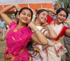 #Bihu #Assam #AssameseWomen