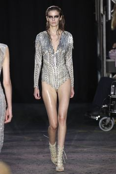 Pin for Later: Julien Macdonald Proves a Man Is a Woman's Best Accessory  And even as bodysuits.