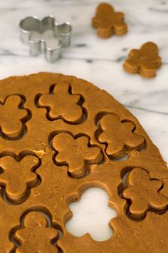 Gingerbread Horse treats and Dog treats are a simple and easy way to show your pets you care this Christmas! From BakingMischief.com