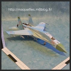 Sukhoi Su-27 Flanker Fighter Free Aircraft Paper Model Download