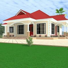 Edit image, resize image, crop pictures and appply effect to your images. Bungalow Haus Design, House Design, Style At Home, Wall Texture Design, 3 Bedroom Bungalow, Crop Pictures, Filling Station, House Paint Exterior, Mansions Homes
