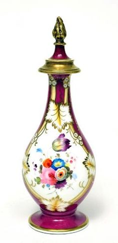 Perfume bottle Alcock & Co. c. 1830 English