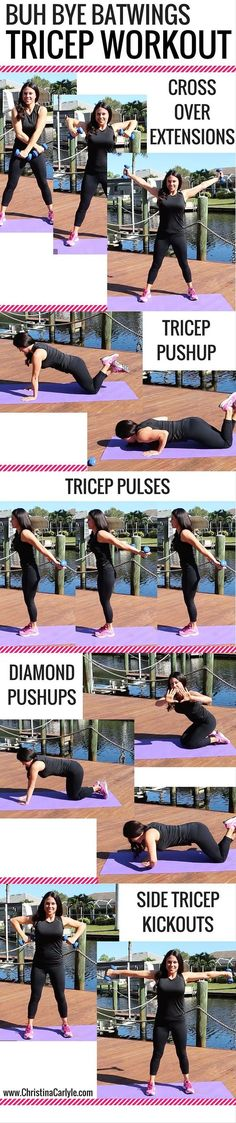 Say farewell to arm wiggle with these fast-paced arm-flab fighters That infamous area along the rear of your arms is the bane of a lot of females. However spot-reducing is not the method to deal wi...