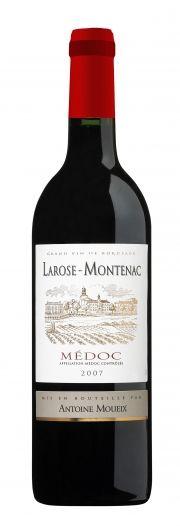 Larose Montenac: Coloração grená intensa. Aroma com notas de uva-passa e alcaçuz. Em boca é um vinho estruturado e com final persistente.         Consumo: 16º a 18ºC.         Harmonização: Indicado para acompanhar uma boa variedade de carnes vermelhas.