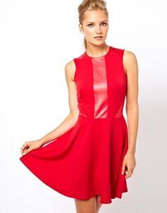 Image 1 ofLove Skater Dress