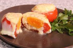 Roșii umplute cu ouă Eggs, Baking, Breakfast, Morning Coffee, Egg, Bakken, Bread, Backen, Egg As Food