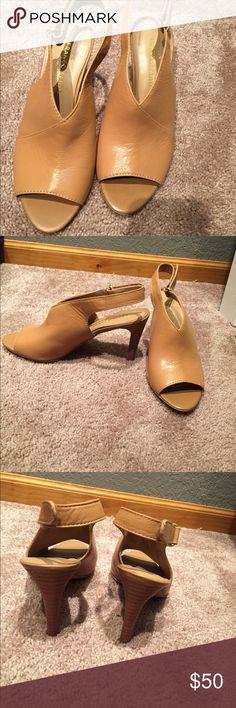 NWOB Franco Sarto Heels Beautiful Sienna Color Heels! Never Been Worn ! Franco Sarto Shoes Heels