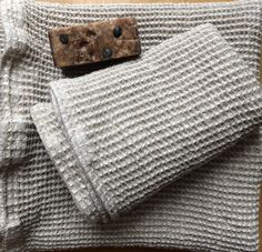 Set of grey towels, Bath and Face Towels Made of Linen