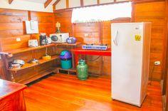 Bungalow kitchen  Vista Drake Lodge Drake Bay, Osa Peninsula Costa Rica #travel #budget #vacation