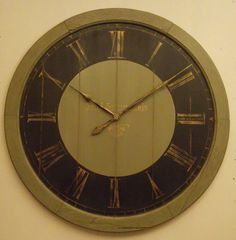 extra Large 44 inch antique tower style custom by StoneHouseClocks