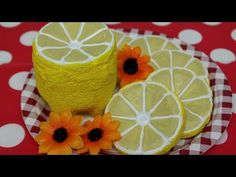 DIY Crafts: Plastic Bottles Lemon by Recycled Bottles Crafts