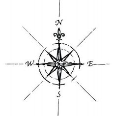Vinyl Attraction Pirate Compass Wall Art - On the ceiling where fan is