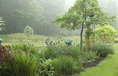Misty morning at Bedrock.