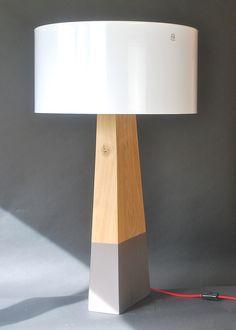 """Lampe """"TOTEM"""" n°004 28x12x112 h."""