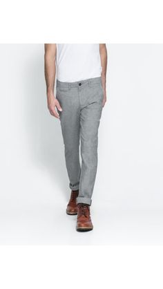 These grey trousers are so versatile and the tailoring makes them