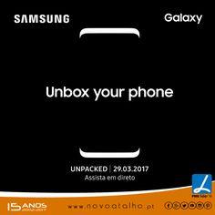 #UnboxYourPhone  Se és fã incondicional dos produtos #galaxy da #samsung então não vais querer perder apresentação do novo ________ ??? Dia 29 de Março 2017. Assiste em directo em  https://youtu.be/O8OKkXj-D6o