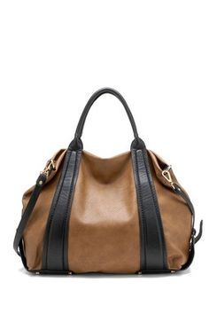 HauteLook | Tosca Handbags: Double Trim Shoulder Bag