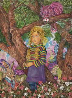 Alice In Wonderland by DavidHoffrichter. #Alice #Wonderland #victorian #Art #gosstudio .★ We recommend Gift Shop: http://www.zazzle.com/vintagestylestudio ★