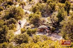 Racers in this year's Grand Junction Off-Road were treated to the all-time singletrack that Grand Junction is increasingly becoming known for.