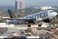 Frontier Airlines  Airbus A319-111  (airliners.net)