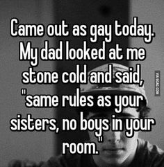 Parenting done right<<XD when your parents are sassy but supportive Lgbt Quotes, Lgbt Memes, Funny Relatable Memes, Funny Texts, Funny Jokes, Hilarious, Funny Dad, Whisper Quotes, Parenting Done Right