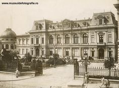 """Bucharest photos from the first decades of the century - mostly from the interwar period (between the two World Wars). ♦ The end of """"Little Paris"""" (click photo) ♦ Little Paris, Bucharest Romania, Royal Palace, England Uk, Beach Trip, Beach Travel, Eastern Europe, Picture Photo, Facade"""