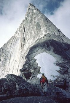 Bugaboo Spire (10,450'). Going here at the end of August.