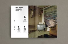 One Shoot by Cristina Vila Nadal, via Behance
