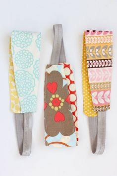Reversible Fabric Headband Sewing Tutorial