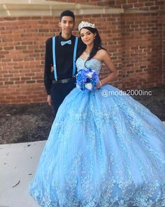 Nov 2 2019 book your appointment to say yes to your dream dress at moda 2000 714 774 7537 Cinderella Quinceanera Themes, Quinceanera Court, Pretty Quinceanera Dresses, Mermaid Prom Dresses, Ball Gown Dresses, 15 Dresses, Tulle Dress, Cute Dresses, Sweet 16 Dresses Blue