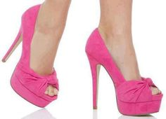 ShoeDazzle Aalliyah In Pink Sock Shoes, Shoe Boots, Shoes Heels, Flats, Pretty Shoes, Beautiful Shoes, Andrea Shoes, Pink Heels, Green Shoes
