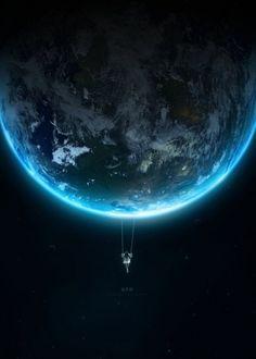 Concept & Fantasy artworks on the Behance Network  - design, art, earth, swing