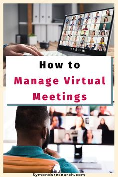 Tips on managing virtual online meetings as the organiser. Learn how to make virtual meetings go smoothly. Conflict Management, Management Tips, Managing People, Leadership Tips, Meet The Team, Writing Practice, Public Speaking, Working Woman, Communication Skills
