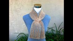 How to Knit Two-color Italian Cast On, Two-color Brioche Knitting and It...