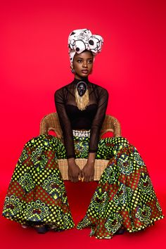 Now That's Black Beauty African Beauty, African Women, Tribal Fashion, African Fashion, Powerful Women, Favorite Color, Afro, Red And Blue, Style Inspiration