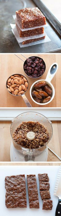 How to Make Easy 3-Ingredient Energy Bars at Home
