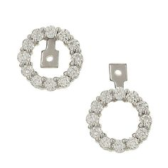 convertible diamond earring jackets