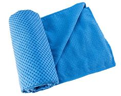 Yoga Towel mat - use while traveling http://www.amazon.com/gp/product/B00OGZCVJI