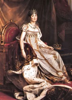 Josephine de Beauharnais. To be honest, she was Not a Great Beauty. But she certainly had Charme. Napoleon loved her so much