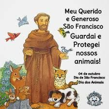 oração são francisco assis pelos animais