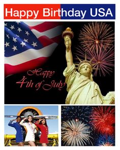"""""""Happy Birthday USA - Hooray for Red White & Blue contest"""" by hokie-engineer-grl ❤ liked on Polyvore"""