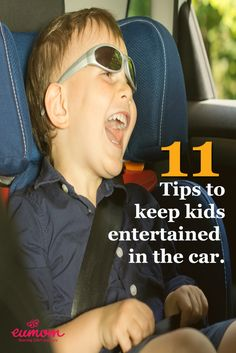 Need some tips to entertain your child on a long car journey?  Fear not! Check out top 11 ways to keep kids entertained in the car!  Try #6 a great way to keep them quiet!