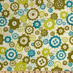 Mischief Flannel Wheels Green