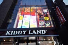 KIDDY LAND, Toy Paradise in Harajuku, Tokyo